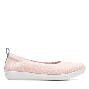 Clarks Ayla Paige Light Pink Womens Shoes